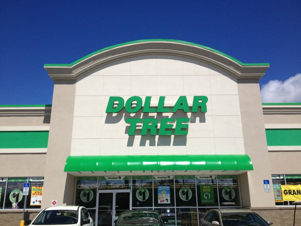 DOLLAR TREE RETAIL STORE 1